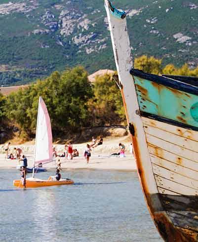 Calvi Campingplatz mit Schwimmbad...