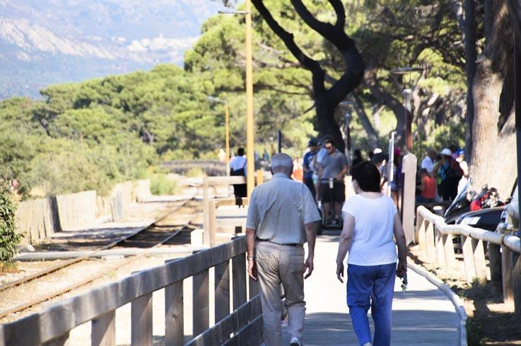 Camping Korsika Aktivität zu Fuß