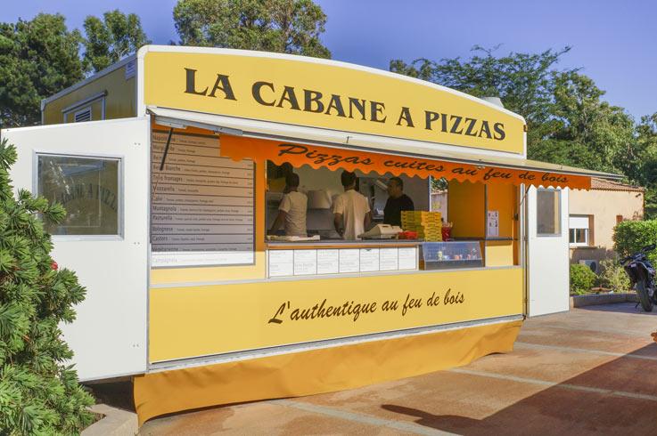 Camping Pizzahütte Korsika