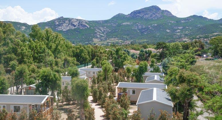 Camping Les Castors in Korsika