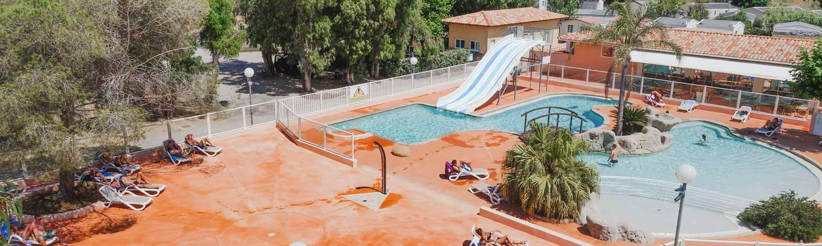 camping en corse avec piscine à Calvi
