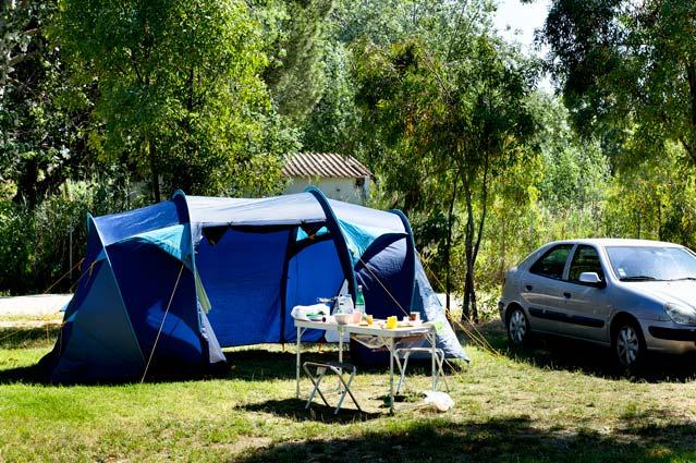 Campingplatz Bungalows Lage Korsika