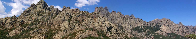 Bergcamping Korsika